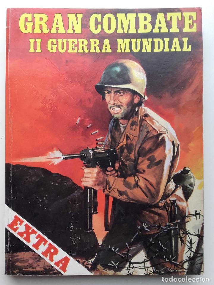 GRAN COMBATE II SEGUNDA GUERRA MUNDIAL EXTRA 5 - EDICIONES GAVIOTA (Libros sin clasificar)