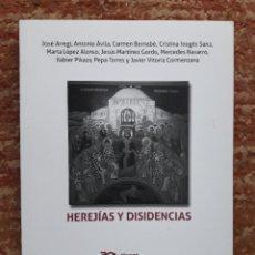 Libros: HEREJIAS Y DISIDENCIAS VALENCIA, TIRANT HUMANIDADES, 2018,. Lote 252162140