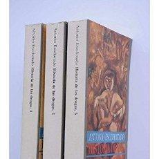Libros: HISTORIA DE LAS DROGAS. 3 TOMOS. - ANTONIO ESCOHOTADO. TDK606. Lote 252178435