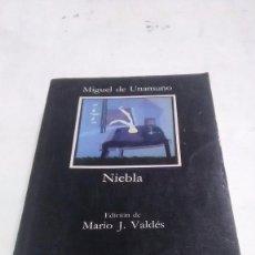 Libros: UNAMUNO. NIEBLA. EDITORIAL CÁTEDRA. 1991.. Lote 252911635