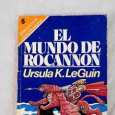 Libros: EL MUNDO DE ROCANNON.- LE GUIN, URSULA K.. Lote 253047045