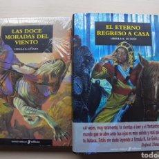 """Libros: LOTE ÚRSULA K. LE GUIN """"LAS DOCE MORADAS DEL VIENTO"""" """"ETERNO REGRESO A CASA"""". Lote 253197450"""