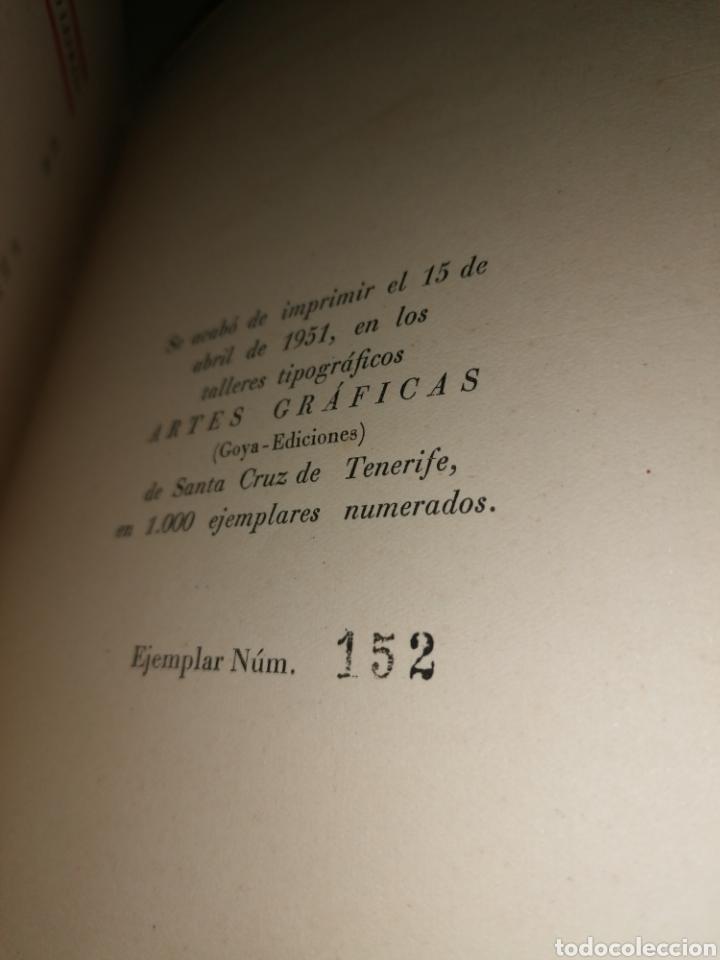 Libros: Turrones de la Feria - Estampas de Tenerife - Amaro Lefranc - Numerado - Dedicatoria autógrafa - Foto 3 - 253366210
