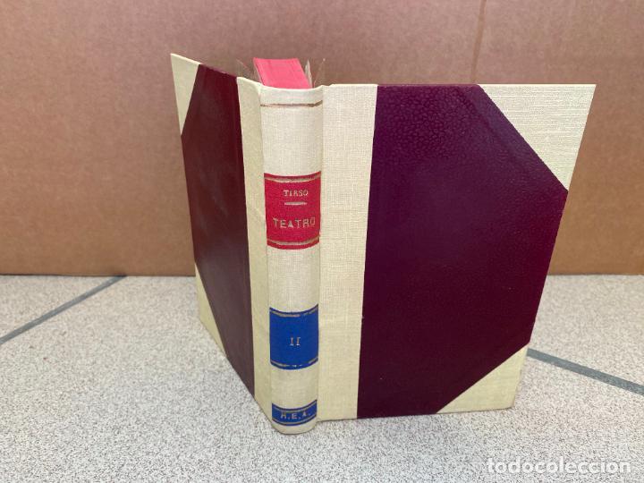 Libros: Teatro escogido, tomo II:Palabras y plumas. La celosa de si misma. Privar contra su gusto. Muestras - Foto 2 - 253469525