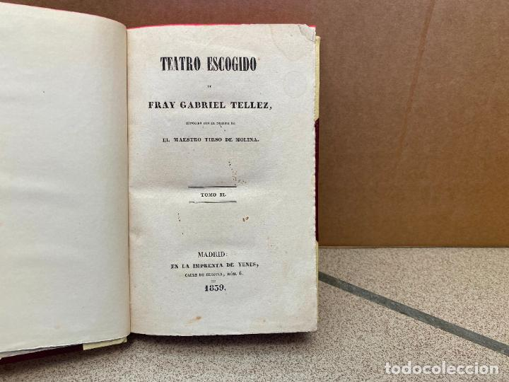 TEATRO ESCOGIDO, TOMO II:PALABRAS Y PLUMAS. LA CELOSA DE SI MISMA. PRIVAR CONTRA SU GUSTO. MUESTRAS (Libros sin clasificar)
