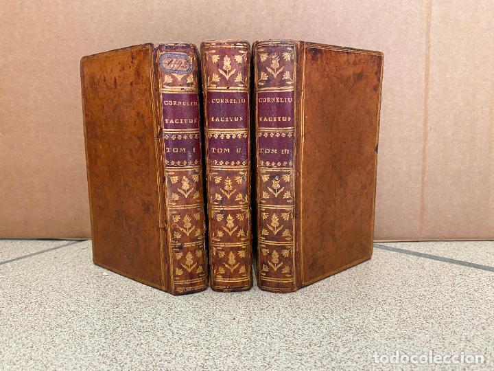 Libros: C. Corneli Taciti Quae exstant opera. Recensuit J.N. Lallemand. - TACITUS. - Foto 2 - 253469565