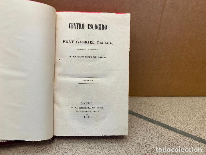 TEATRO ESCOGIDO DE TIRSO DE MOLINA. TOMO VI: LA PRUDENCIA EN LA MUGER (COMEDIA) / LA VILLANA DE VALL (Libros sin clasificar)