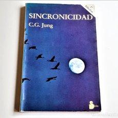 Libros: 1990 LIBRO SINCRONICIDAD - 14 X 21.CM. Lote 253885505