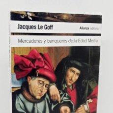 Libros: MERCADERES Y BANQUEROS DE LA EDAD MEDIA - LE GOFF, JACQUES - BAS, DAMIÀ DE (TRAD.). Lote 254113835