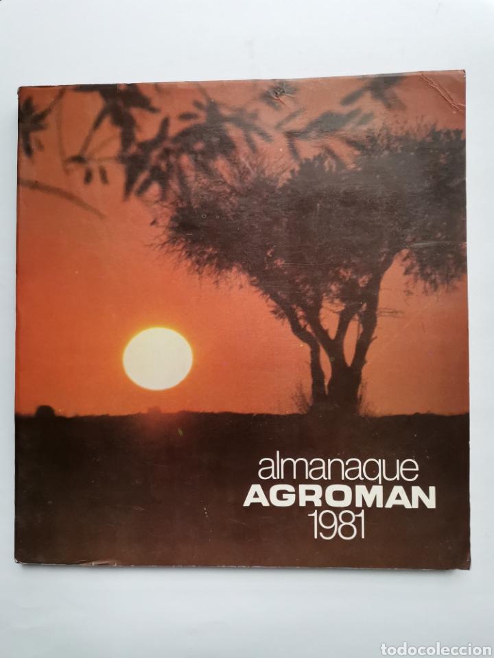 ALMANAQUE AGROMAN 1981 (Libros sin clasificar)