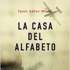 Libros: CASA DEL ALFABETO. ADLER-OLSEN. Lote 254510945