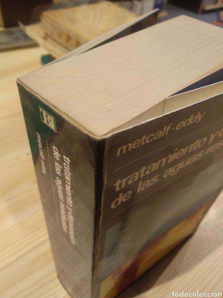 Libros: TRATAMIENTO Y DEPURACIÓN DE LAS AGUAS RESIDUALES. METCALF. EDDY - Foto 2 - 254528235