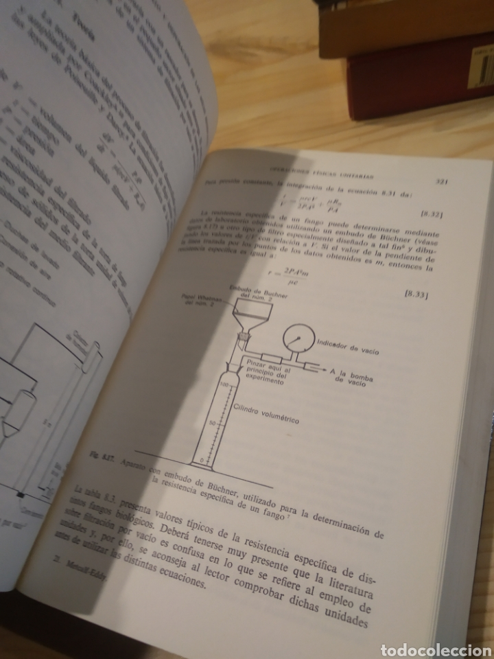 Libros: TRATAMIENTO Y DEPURACIÓN DE LAS AGUAS RESIDUALES. METCALF. EDDY - Foto 5 - 254528235