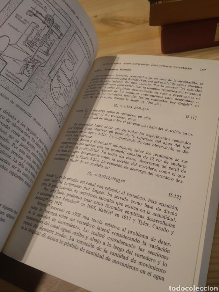 Libros: TRATAMIENTO Y DEPURACIÓN DE LAS AGUAS RESIDUALES. METCALF. EDDY - Foto 6 - 254528235
