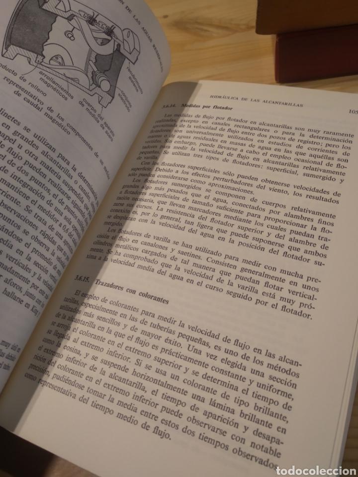 Libros: TRATAMIENTO Y DEPURACIÓN DE LAS AGUAS RESIDUALES. METCALF. EDDY - Foto 7 - 254528235