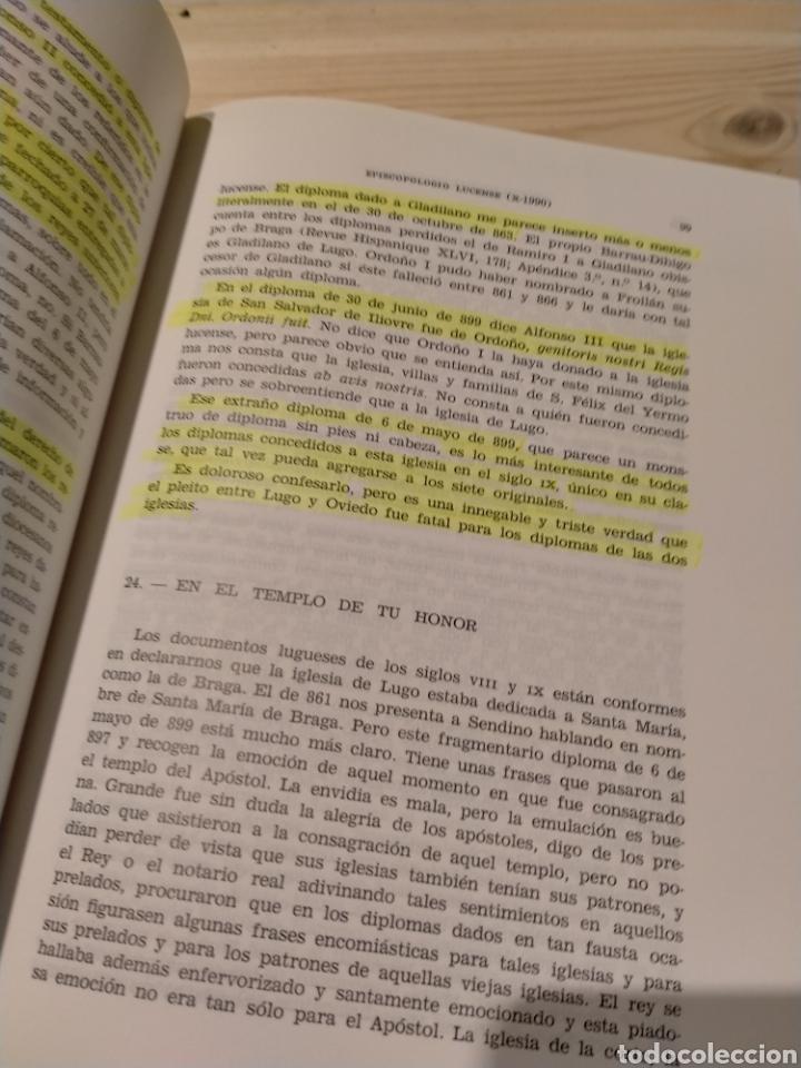 Libros: EPISCOPOLOGIO LUCENSE. GARCIA CONDE. LOPEZ VALCARCEL - Foto 6 - 254548380