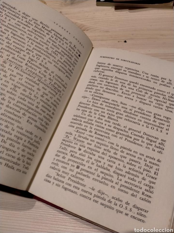 Libros: SOBRE ESPIAS Y ESTRATAGEMAS. STANLEY LOVELL - Foto 5 - 254550855