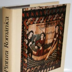 Libros: LA PINTURA ROMÁNICA - OURSEL, RAYMOND (TEXTO). Lote 254591595