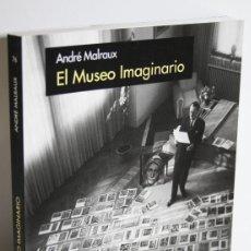 Libros: EL MUSEO IMAGINARIO - MALRAUX, ANDRÉ. Lote 254591800