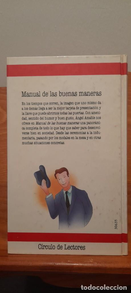 Libros: MANUAL DE LAS BUENAS MANERAS - Foto 4 - 254603630