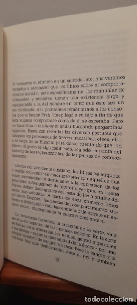 Libros: MANUAL DE LAS BUENAS MANERAS - Foto 13 - 254603630