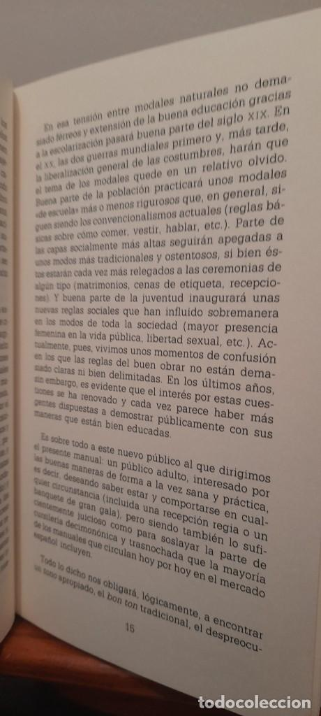 Libros: MANUAL DE LAS BUENAS MANERAS - Foto 15 - 254603630