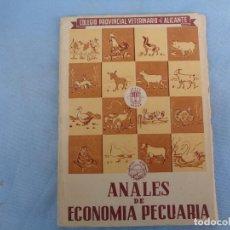 Libros: ANALES DE ECONOMÍA PECUARIA. ALICANTE 1952. Lote 254654270