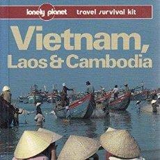 Libros: VIETNAM, LAOS AND CAMBODIA - DANIEL ROBINSON. Lote 254684850