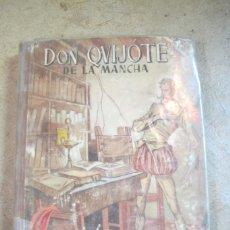 Libros: DON QUIJOTE DE LA MANCHA. MIGUEL DE CERVANTES. . HIJOS DE SANTIAGO RODRIGUEZ BURGOS 1957. Lote 254688925
