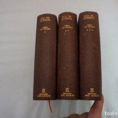 Libros: 19C/ 3 TOMOS - OBRAS DE EÇA QUEIROZ / AGUILAR - LLELLO & IRMAO - EDITORES -1912. Lote 254700080
