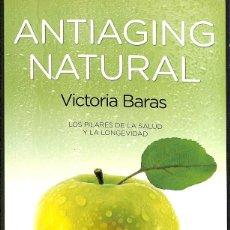 Libros: ANTIAGING NATURAL. Lote 254706680