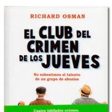 Libros: OSMAN (RICHARD). EL CLUB DEL CRIMEN DE LOS JUEVES. Lote 254867250