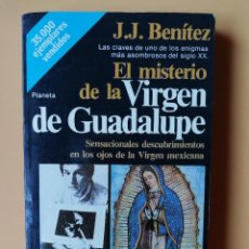 Libros: EL MISTERIO DE LA VIRGEN DE GUADALUPE. SENSACIONALES DESCUBRIMIENTOS EN LOS OJOS DE LA VIRGEN MEXICA. Lote 254989640