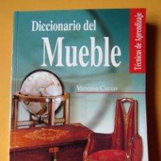 Libros: DICCIONARIO DEL MUEBLE - VANESSA CUCCO. Lote 254989650