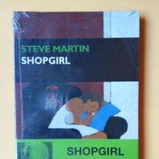 Libros: SHOPGIRL - STEVE MARTIN. Lote 254989710