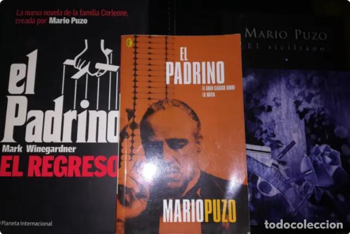 3 NOVELAS DE MARIO PUZO: EL PADRINO, EL PADRINO EL REGRESO, Y EL SICILIANO (Libros Nuevos - Literatura - Narrativa - Aventuras)