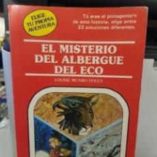 Libros: ELIGE TU PROPIA AVENTURA - EL MISTERIO DEL ALBERGUE DEL ECO - Nº 42 - TIMUN - TDK220 -. Lote 255594995