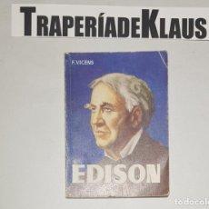 Libros: ENCICLOPEDIA PULGA Nº 112 - EDISON - VICENS - TDK16 -. Lote 255646035
