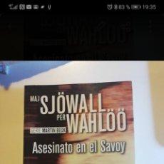 Libros: ASESINATO EN EL SAVOY. Lote 255951100