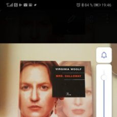 Libros: MRS. DALLOWAY. VIRGINIA WOOLF. Lote 255957175