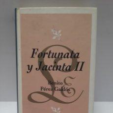 Libros: LB451 FORTUNATA Y JACINTA 2 BENITO PÉREZ GALDÓS - LIBROS SEGUNDAMANO. Lote 256160285