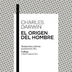 Libros: ORIGEN DEL HOMBRE,EL - DARWIN,CHARLES. Lote 256531690