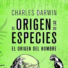 Libros: ORIGEN DE LAS ESPECIES,EL - DARWIN, CHARLES. Lote 256784485
