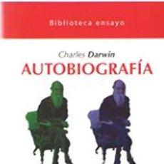 Libros: AUTOBIOGRAFIA - DARWIN, CHARLES. Lote 256894880