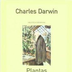 Libros: PLANTAS INSECTIVORAS - DARWIN, CHARLES. Lote 257073260