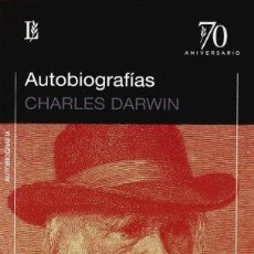 Libros: AUTOBIOGRAFIAS - DARWIN,CHARLES. Lote 257193675
