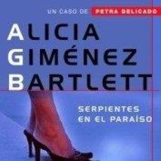 Libros: SERPIENTES EN EL PARAÍSO - GIMÉNEZ BARTLETT, ALICIA. Lote 257703145