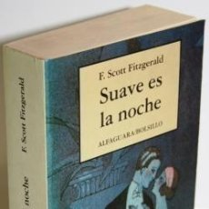 Libros: SUAVE ES LA NOCHE - SCOTT FITZGERALD, F.. Lote 257704115