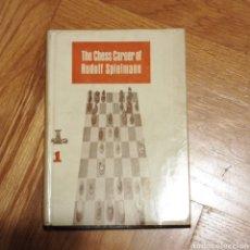 Libros: THE CHESS CAREER OF RUDOLF SPIELMANN. Lote 258198820
