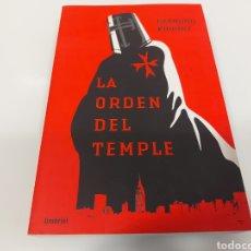 Libros: LA ORDEN DEL TEMPLE. Lote 258785195